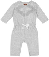 7 For All Mankind Girls' Lace Top Coverall