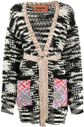 Missoni Graphic Print Cardigan