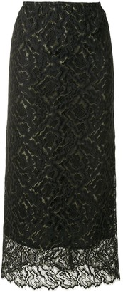 Beaufille Lace Maxi Skirt