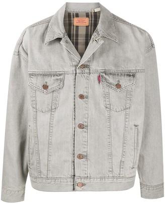 Levi's Rear Embroidery Denim Jacket