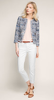 Esprit OUTLET cropped stretch jean in 5-pocket style