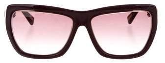 Lanvin Jewel-Embellished Gradient Sunglasses