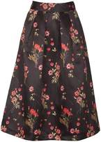 Izabel London Floral Print Full Skirt