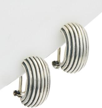 Phillip Gavriel Silver Half Moon Earrings