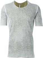 Label Under Construction faded effect fitted T-shirt