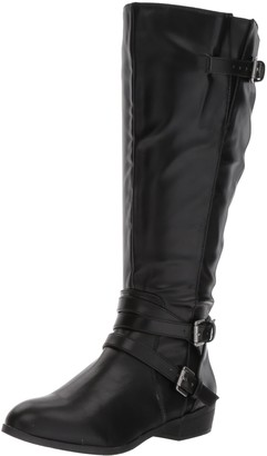 Madden-Girl Women's Opus Wide Calf Fashion Boot