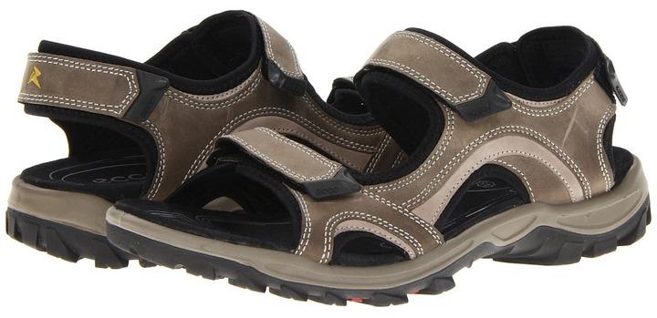 Ecco Sport - Offroad Lite Sandal (Warm Grey/Moon Rock Oil Nubuck/Fuego) - Footwear
