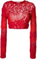 Helmut Lang loose knitted top