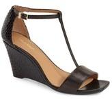 Calvin Klein Women's 'Niall' T-Strap Wedge Sandal