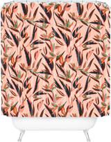 Deny Designs Anthology Of Pattern Elle Bird Paradise Shower Curtain