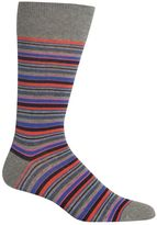 Chaps Men's Striped Crew Socks
