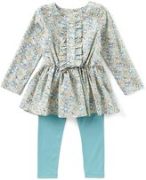 Edgehill Collection Made With Liberty Fabrics Little Girls 2T-4T Floral-Print Long-Sleeve Tunic & Leggings Set