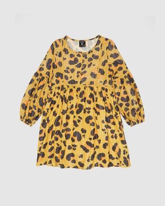 Cotton On Kip & Co Golda Long Sleeve Dress - Teens