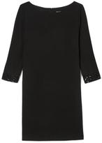 Vince Camuto Embellished-cuff Dress