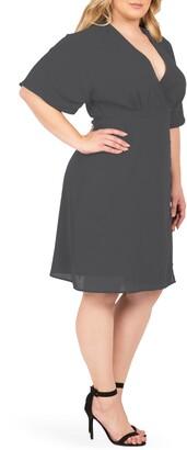 Standards & Practices Candice Georgette Wrap Dress