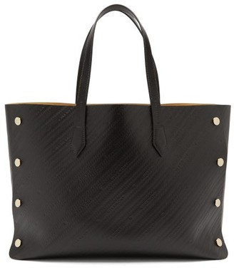 Givenchy Bond Medium Logo-debossed Leather Tote Bag - Womens - Black