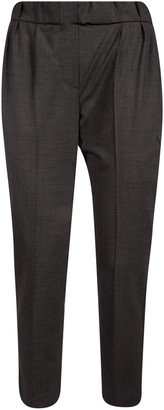 Brunello Cucinelli Ribbed Waist Trousers