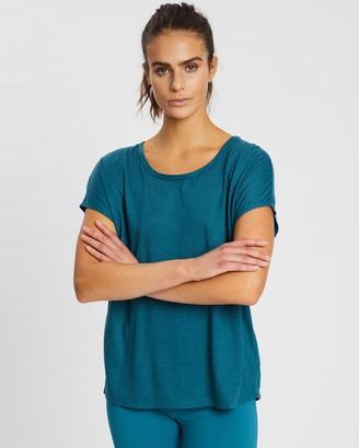 Gaiam Corrine Short Sleeve Top
