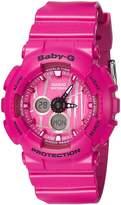 Casio Women's Baby G BA120SP-4A Rubber Quartz Sport Watch
