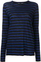 Proenza Schouler relaxed striped top - women - Cotton - S