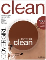 Cover Girl Clean Pressed Powder Foundation Classic Tan 11 g (Pack of 2)