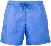 Moncler logo plaque swimming trunks - men - Polyamide/Polyester - S
