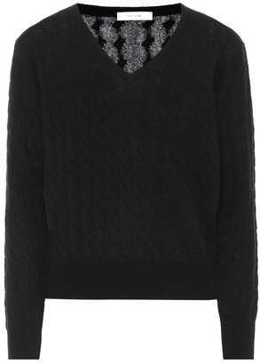 The Row Rozanne cashmere and silk sweater