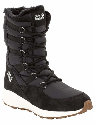 Jack Wolfskin Women's Nevada Texapore HIGH Waterproof Winter Boot with Fleece Lining Snow
