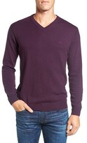 Rodd & Gunn Men's 'Inchbonnie' Wool & Cashmere V-Neck Sweater