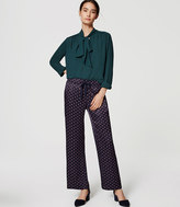 LOFT Tall Geo Fluid Drawstring Pants