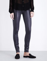 Paige Verdugo coated ultra-skinny mid-rise jeans