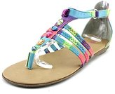 Kenneth Cole Reaction Bright Day Jeweled with Zipper Sandal (Little Kid/Big Kid)
