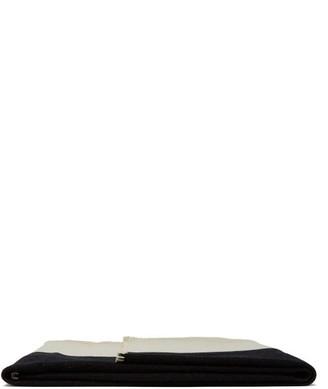 Calvin Klein X Pendleton Striped Wool-blend Blanket - Black Stripe