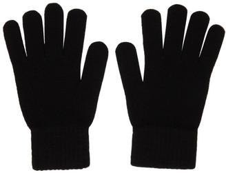 John Elliott Black Wool and Cashmere Gloves