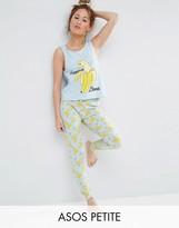 Asos Banana Llama Tank & Legging Pajama Set