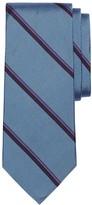 Brooks Brothers Herringbone Double Stripe Tie