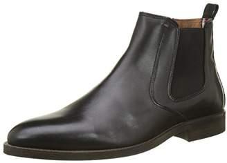 Tommy Hilfiger Men's D2285aytona 4a Chelsea Boots, Black (Black), (44 EU)