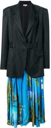 Natasha Zinko Maxi Jacket With Detachable Dress