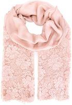 Valentino lace scarf - women - Cotton/Polyamide/Modal/Cashmere - One Size