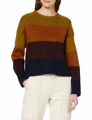 New Look Women's Colour Block Jumper Multicoloured - S