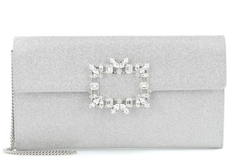 Roger Vivier Evening Envelope embellished clutch