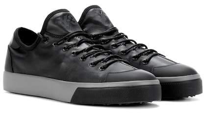 Y-3 Sen Low leather sneakers