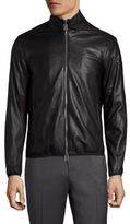 Emporio Armani Blouson Leather Jacket