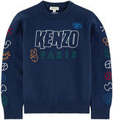 Kenzo Cotton and cashmere sweater