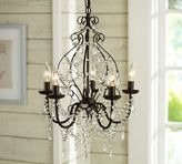 Pottery Barn Paige Crystal Chandelier