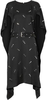 Burberry Embellished Asymmetric Dress