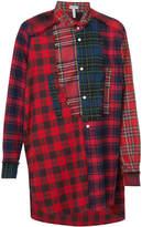 Loewe checked shirt