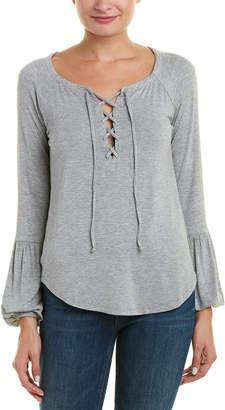 Chaser Lace-Up Raglan T-Shirt