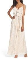 Women's Nouvelle Amsale Pamela Ruffle Gown