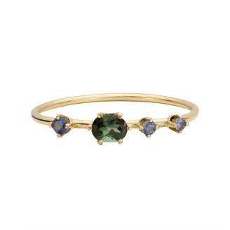Irena Chmura Jewellery Cassiopeia Ring, Oval Tourmaline